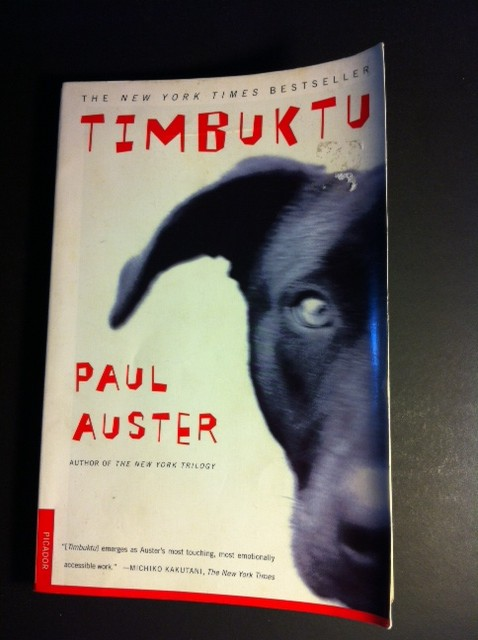 Book Report TIMBUKTU by Paul Auster