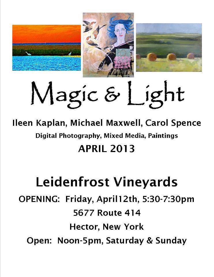 Art Exhibition at Leidenfrost Vineyard ~ April 2013 (1/6)