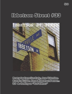 Ibbetson Street # 33 Cover