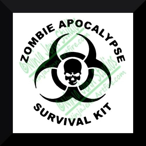 and the Zombie Apocalypse Zombie Apocalypse Survival Kit Labels