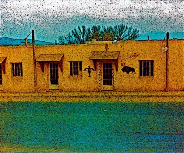 Street Scene, Taos